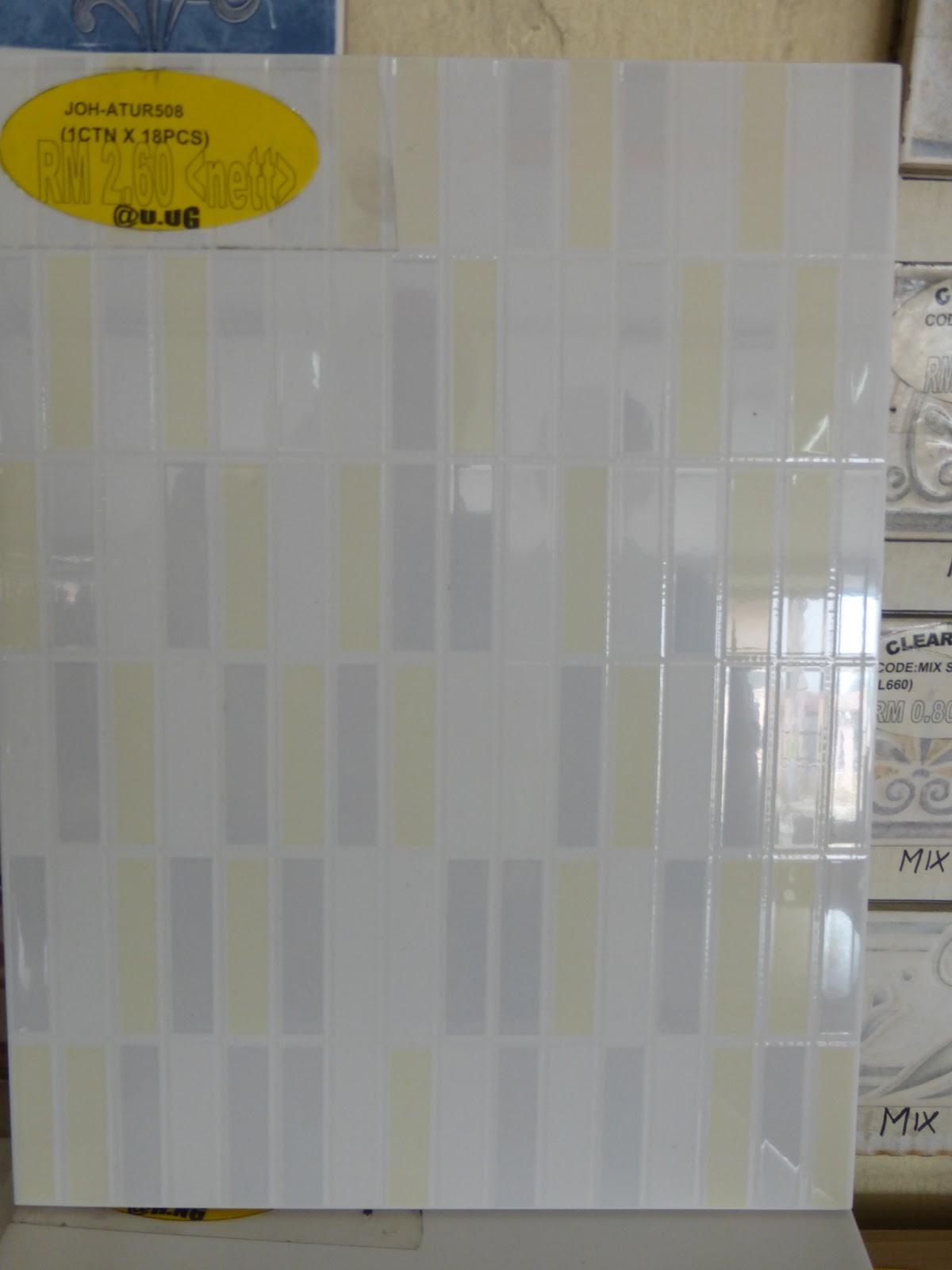 Kisah 1001 Macam: Harga TIles - tempat tiles murah - RENO PART 1