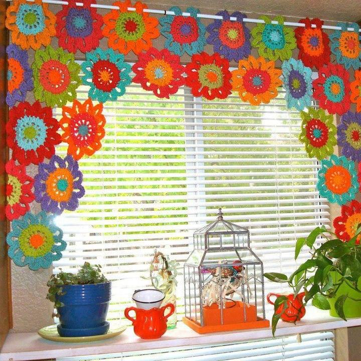 Decoracion En Telas Paso A Paso ~ tejidos artesanales en crochet una buena idea para decorar nuestras