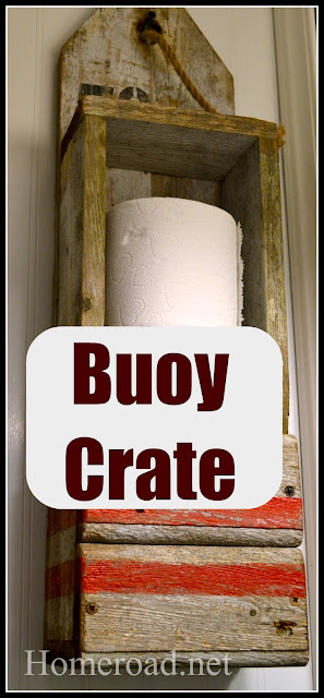 A Nautical Buoy Crate www.homeroad.net