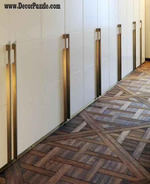 unique flooring, woven timber flooring ideas, creative flooring options