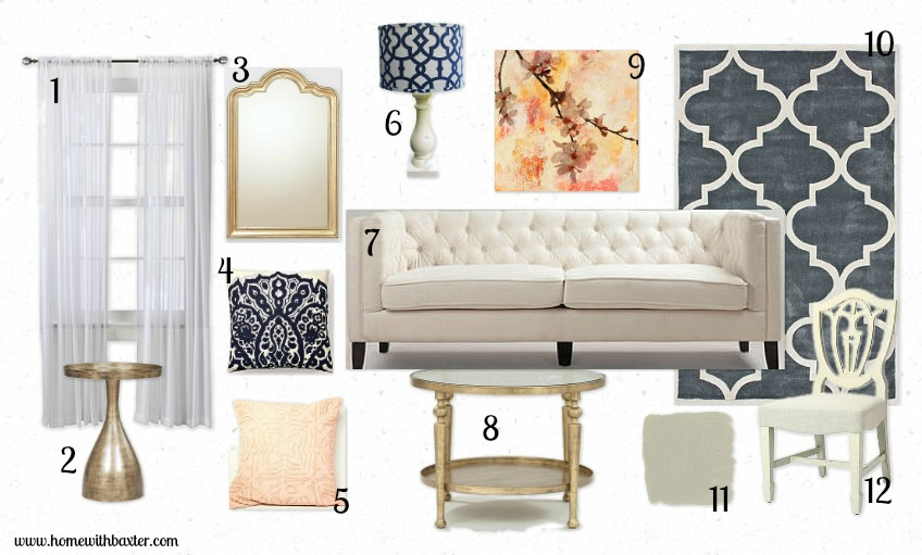 Want To Shop This Room Heres A Source List