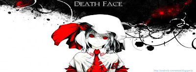 Couverture journal faebook Death Face Girl
