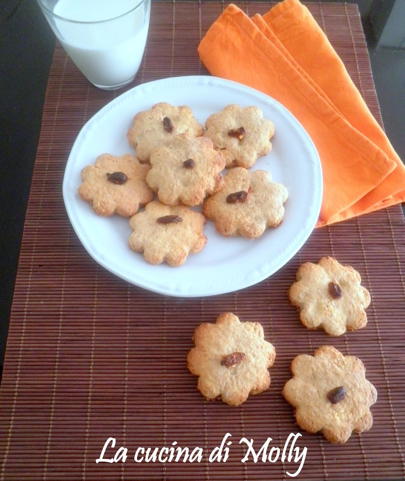 biscotti rustici al miele e bacche di goji