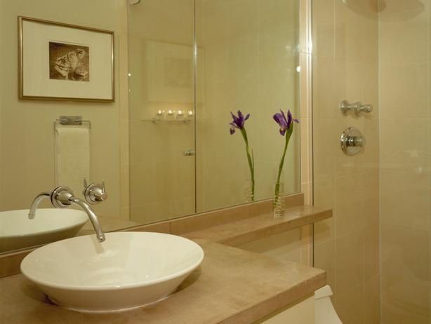 Blog da Roca Imóveis Reformando o banheiro gastando pouco -> Banheiro Decorado Bege