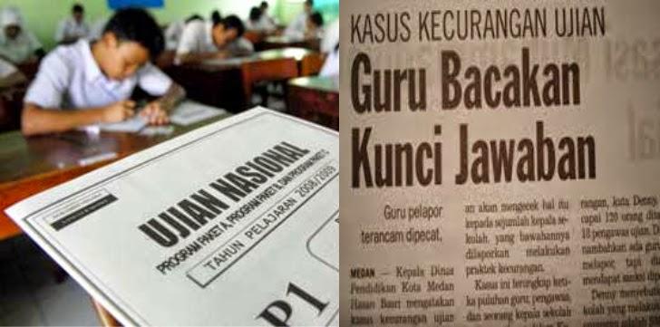 Hukum Memberi Jawaban Soal Ujian Nasional Pesantren Id