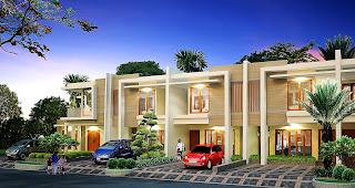 Design rumah tinggal oleh Martha Kristina