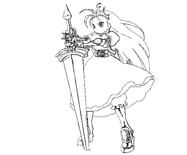#1 Ghost 'n Goblin Arthur Coloring Page