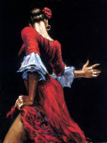 UN RINCONCITO PARA LA LECTURA - Página 4 Pintura+flamenca2