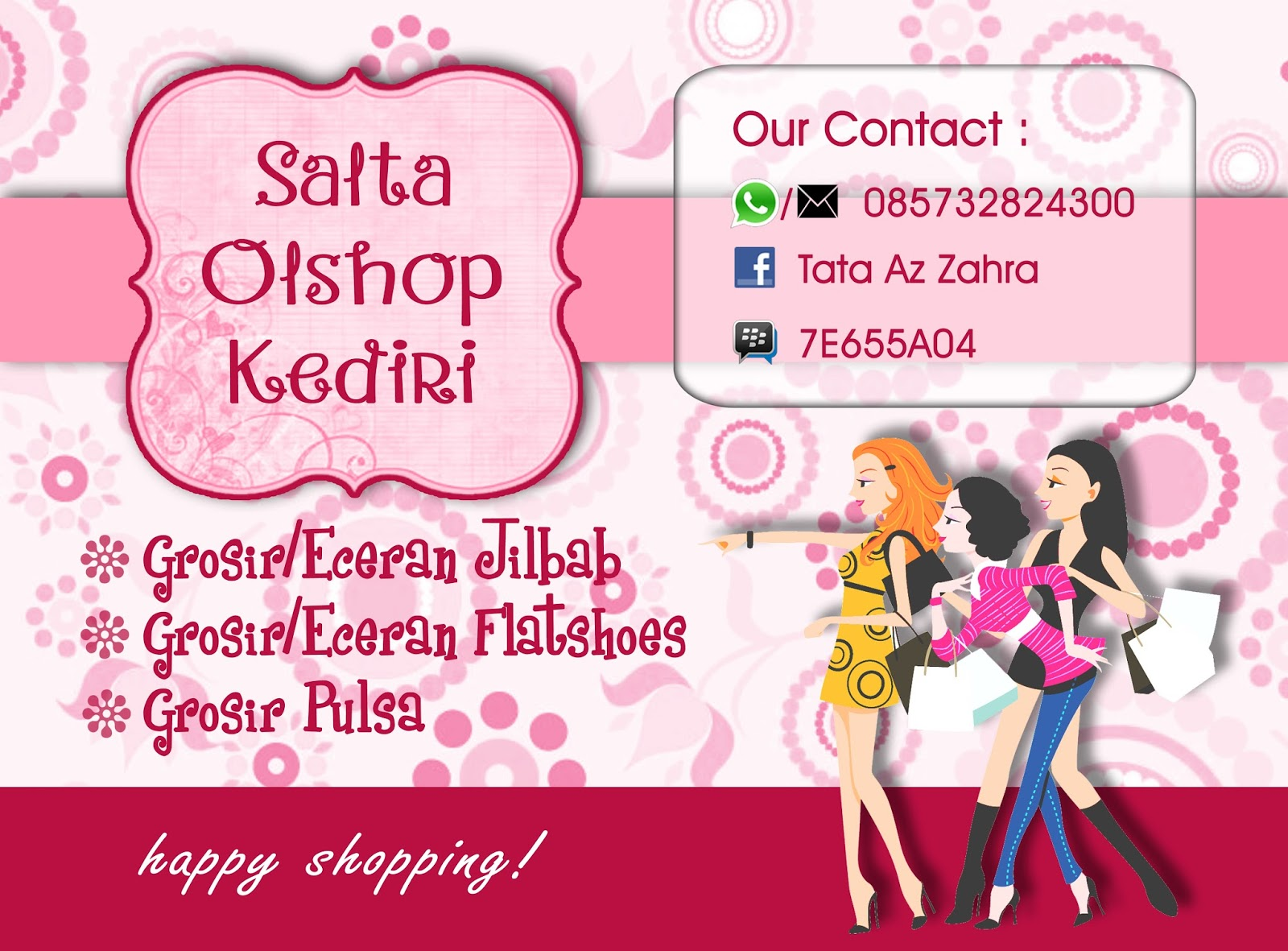 kreasi banner olshop by psare project pshare project. Black Bedroom Furniture Sets. Home Design Ideas