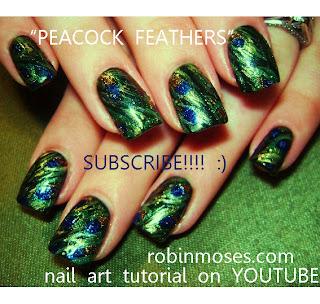 """robin moses nail art """"holiday nail art"""" """"cute christmas"""
