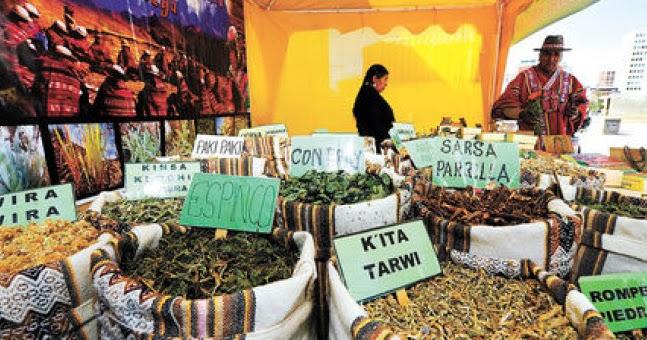 medicina tradicional en Bolivia