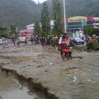 Foto Banjir Kota Jayapura Papua