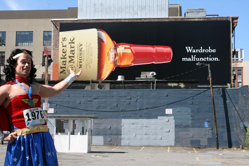Maker's Mark Wardrobe malfunction billboard