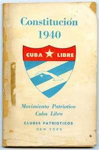 Firma de la Constitución del 40