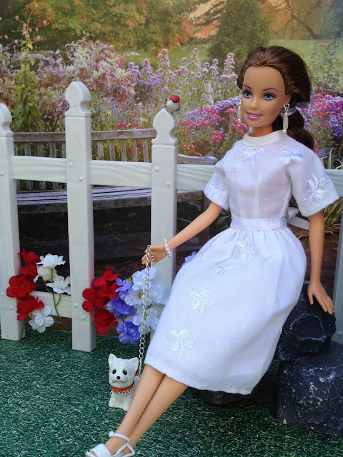 Handmade Barbie doll clothing and accessories