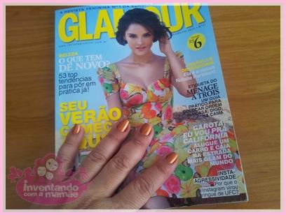 Revista Glamour edição de agosto