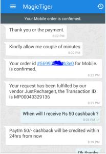 magictiger free paytm cash