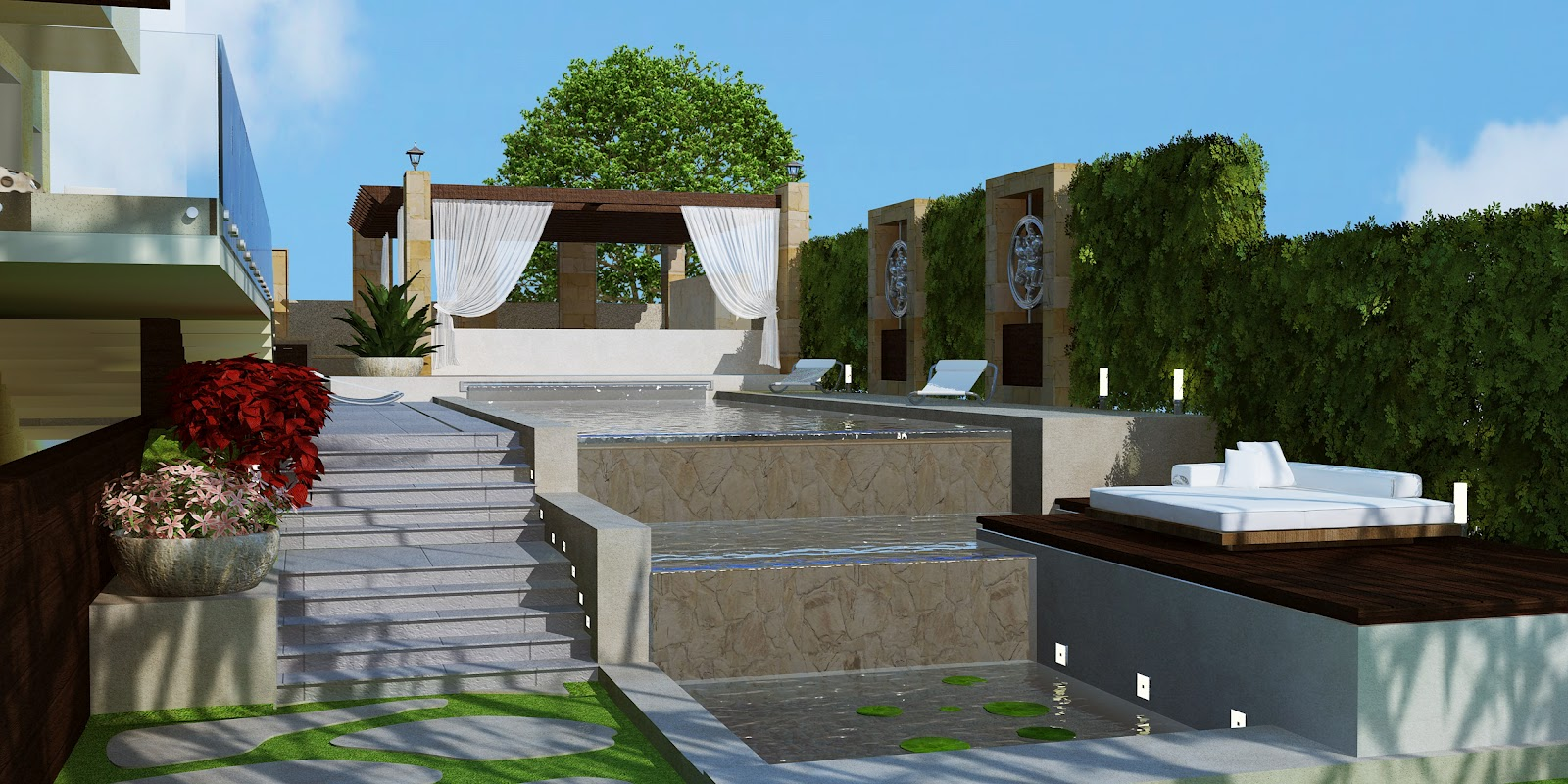 High definition modern landscape design lebanon by hd Definition landscape and design