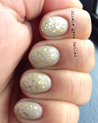 Nude with Gold Matte