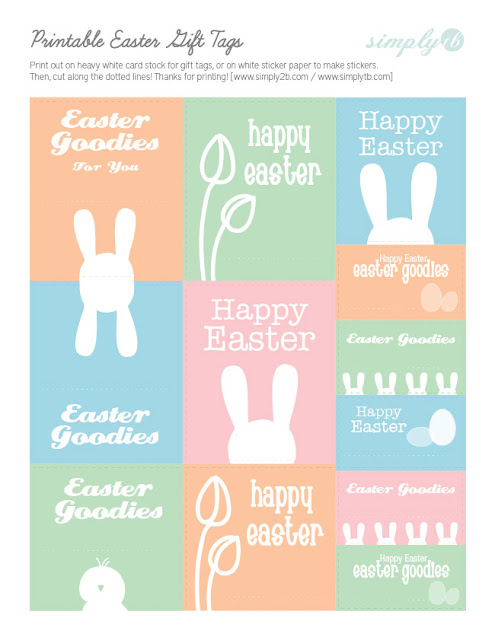 photo relating to Printable Easter Tags named Printable: Easter Reward Tags
