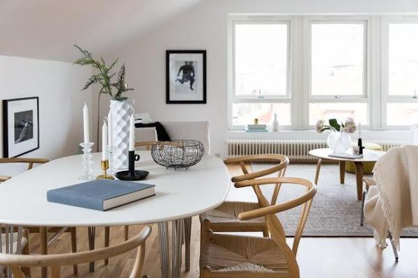 Blanco y madera minimalismo decorar tu casa es for Banos diseno nordico