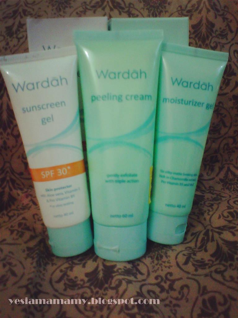 yes I am Amamy: REVIEW: Wardah Sunscreen Gel, Peeling ...