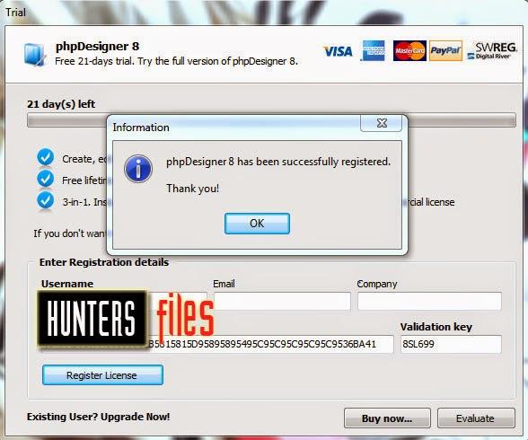 crack para php designer 8 serial