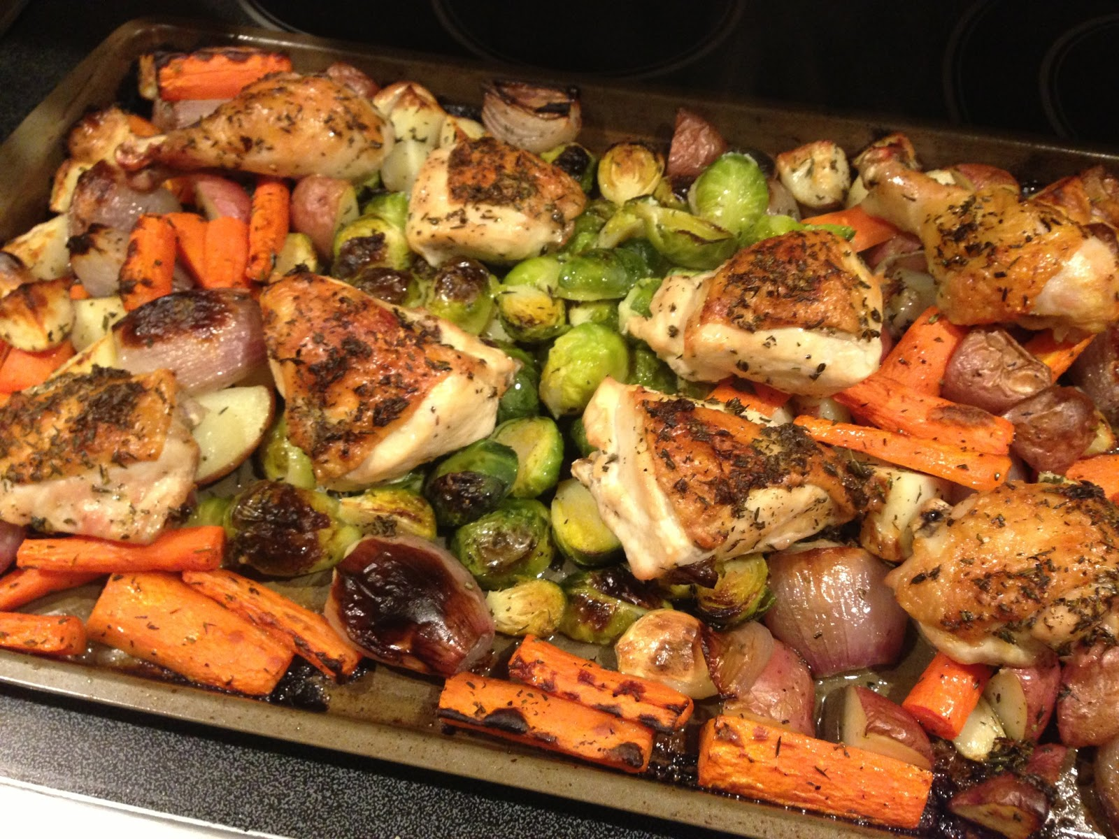 Oven-Roasted Chicken and Root Vegetables picture