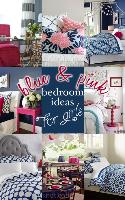 Blue and pink bedroom ideas for girls entirely eventful day for Pink and blue bedroom