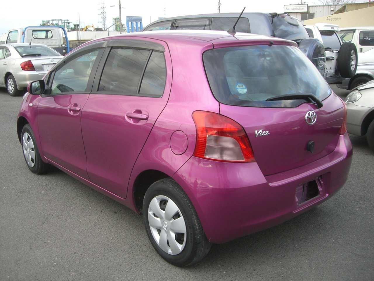 Toyota Vitz Car Models