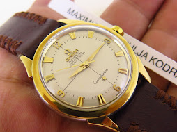 OMEGA CONSTELLATION CHRONOMETER WHITE DIAL GOLD CAP- AUTOMATIC CAL 501