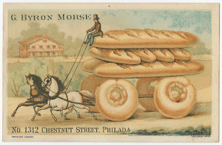 G. Bryon Morse, 1312 Chestnut Street, Philada. Philadelphia: Graff Bros., ca. 1880. Trade card. Library Company of Philadelphia.