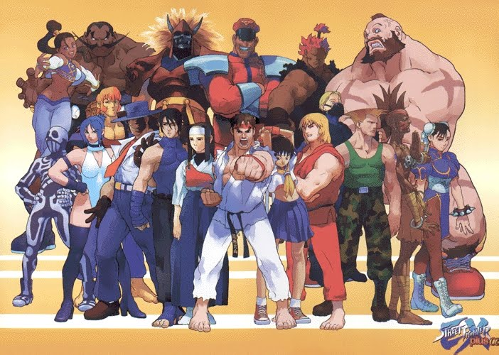 Street Fighter HD & Widescreen Wallpaper 0.618622912177483
