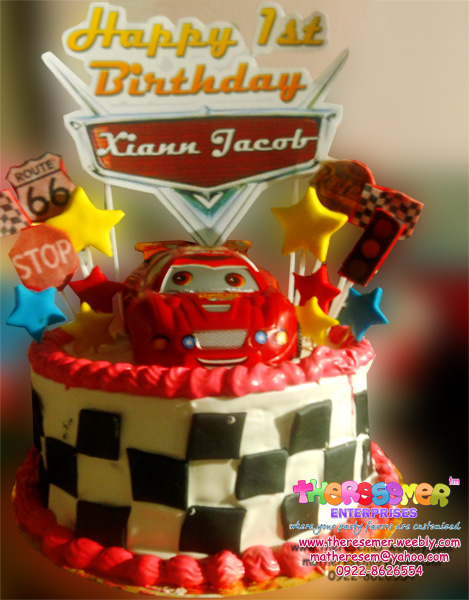 Cars Cake Design Red Ribbon : Welcome to i.am.rieze blogspot: Affordable Cake & cupcakes ...