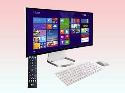 PC tudo-em-um da LG tem telona curva e pode ser sua TV