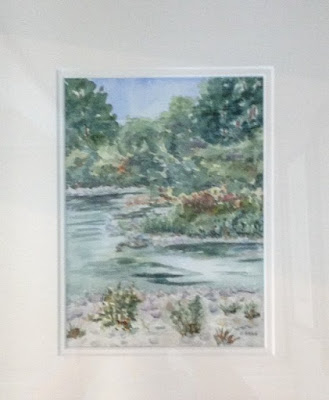 watercolour, Thames,Pat Brown, Canadian Artist