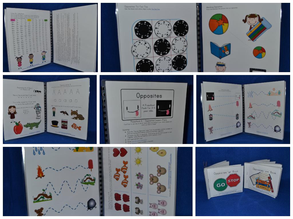 preschool opposites theme opposites preschool pack 320