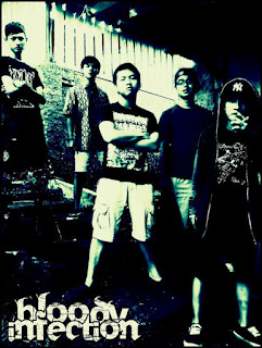 Bloody Infection Band Metalcore / Hardcore Cikampek Jawa Barat Indonesia Foto Personil Logo Cover Artwork Wallpaper