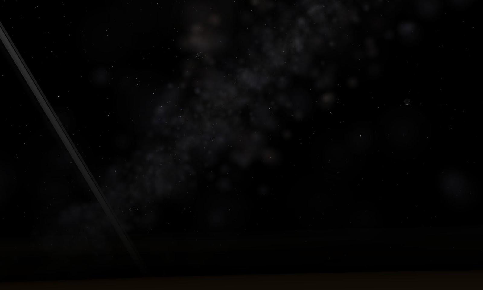 Mặt Trăng của Trái Đất cùng vành đai của hành tinh Thổ và dải Ngân Hà khi nhìn từ ngoài không gian. Tác giả : John Brady ở Astronomy Central trên mạng xã hội Reddit.