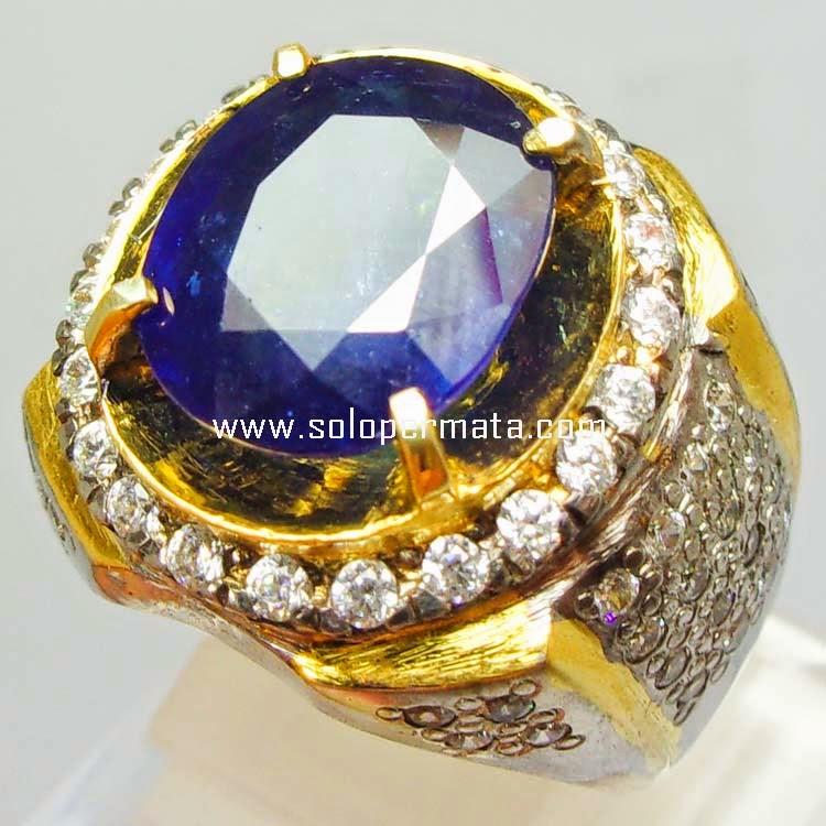 Batu Permata Royal Blue Sapphire - SP 002