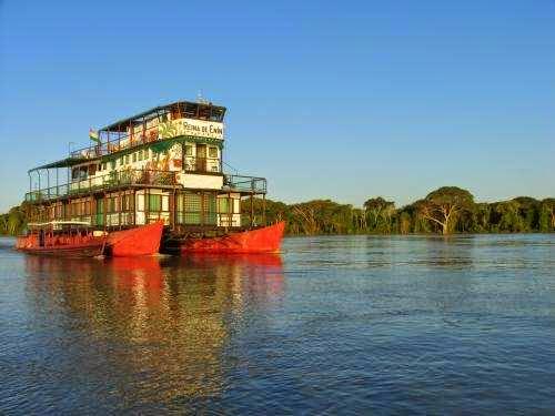 El taller se realizará a bordo del Flotel Reina de Enin sobre el Río Mamoré