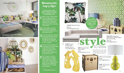 Featured in Adore Home Magazine July 2011