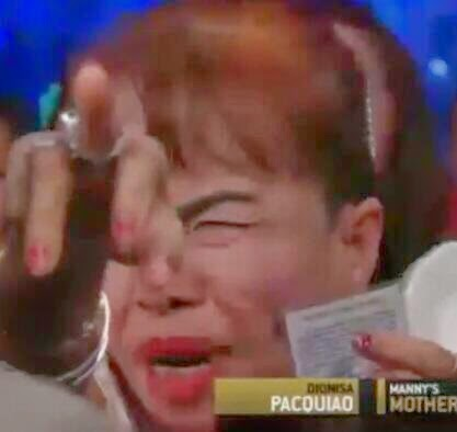 Mommy Dionesia Video becomes Viral on Pacquiao vc Bradley 2 Fight