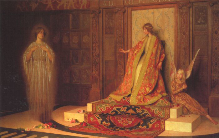 Thomas Cooper Gotch womanhood