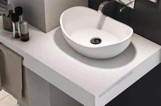 Lavabo OPAL Solid Surface | tu Cocina y Baño