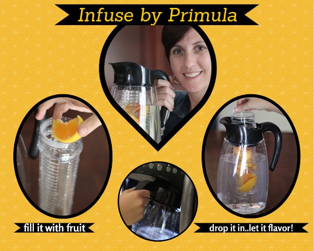 Turn boring water into fun flavor with Infuse Beverage System
