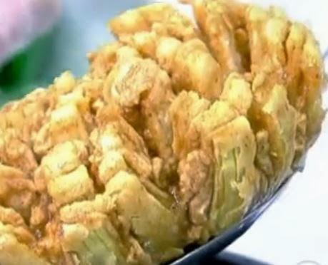 Cebola empanada fácil de fazer (receita Ana Maria Braga)