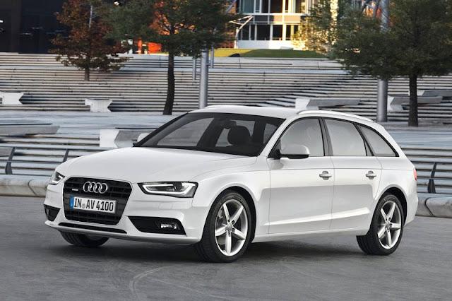 2013 Audi A4 Avant White Exterior