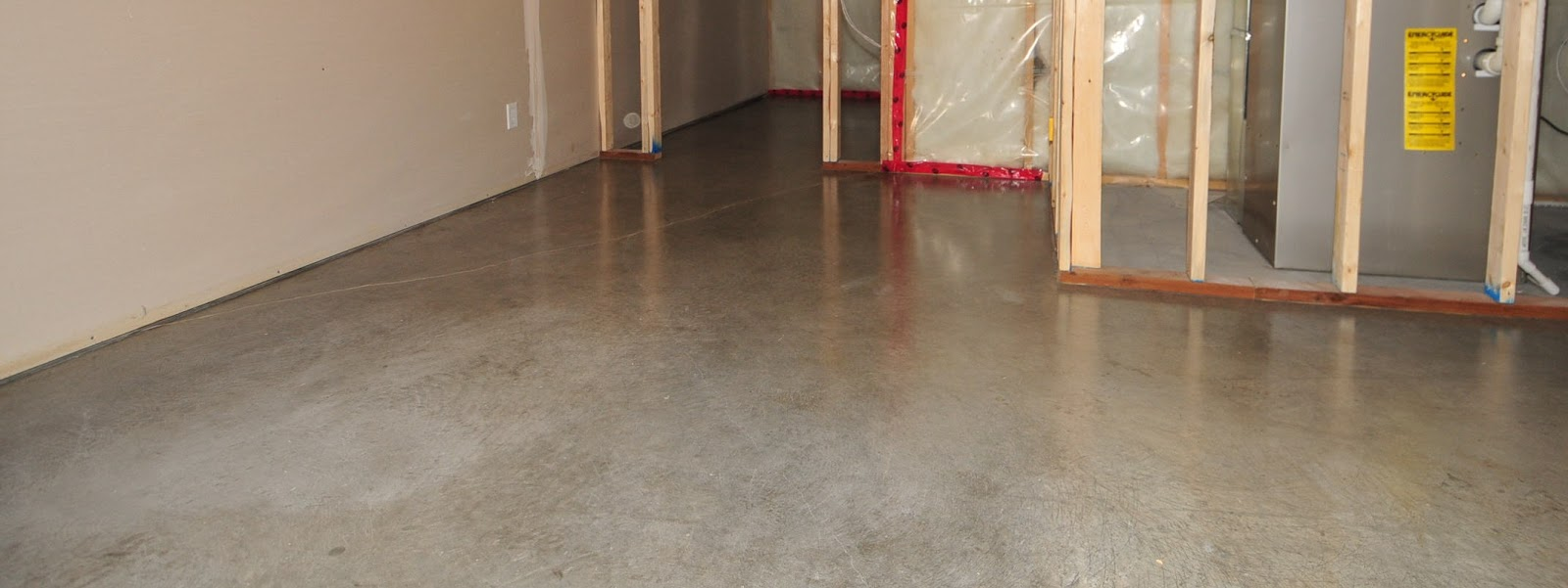 Mode concrete cool and modern basement concrete floors for Concrete basement floor