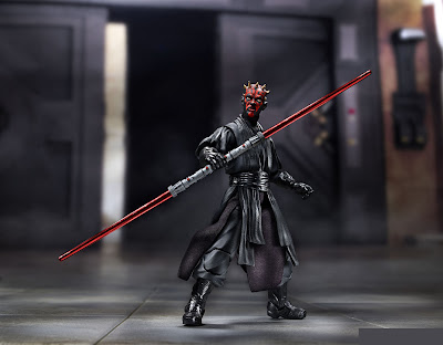 "Hasbro Star Wars The Black Series 6"" Darth Maul figure"